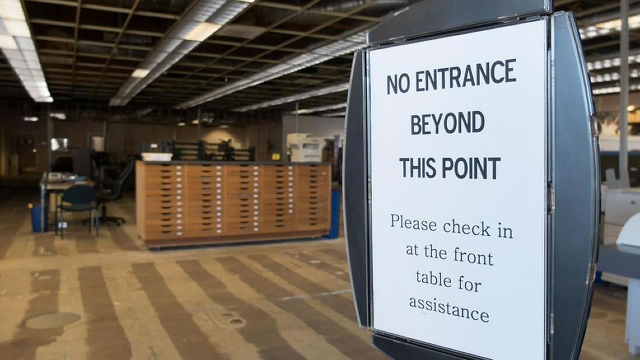 Newsroom at the Napa Valley Register KGO-TV/Wayne Freedman