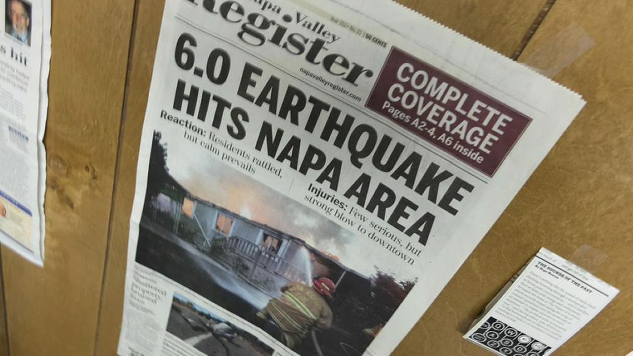 Newspaper KGO-TV/Wayne Freedman