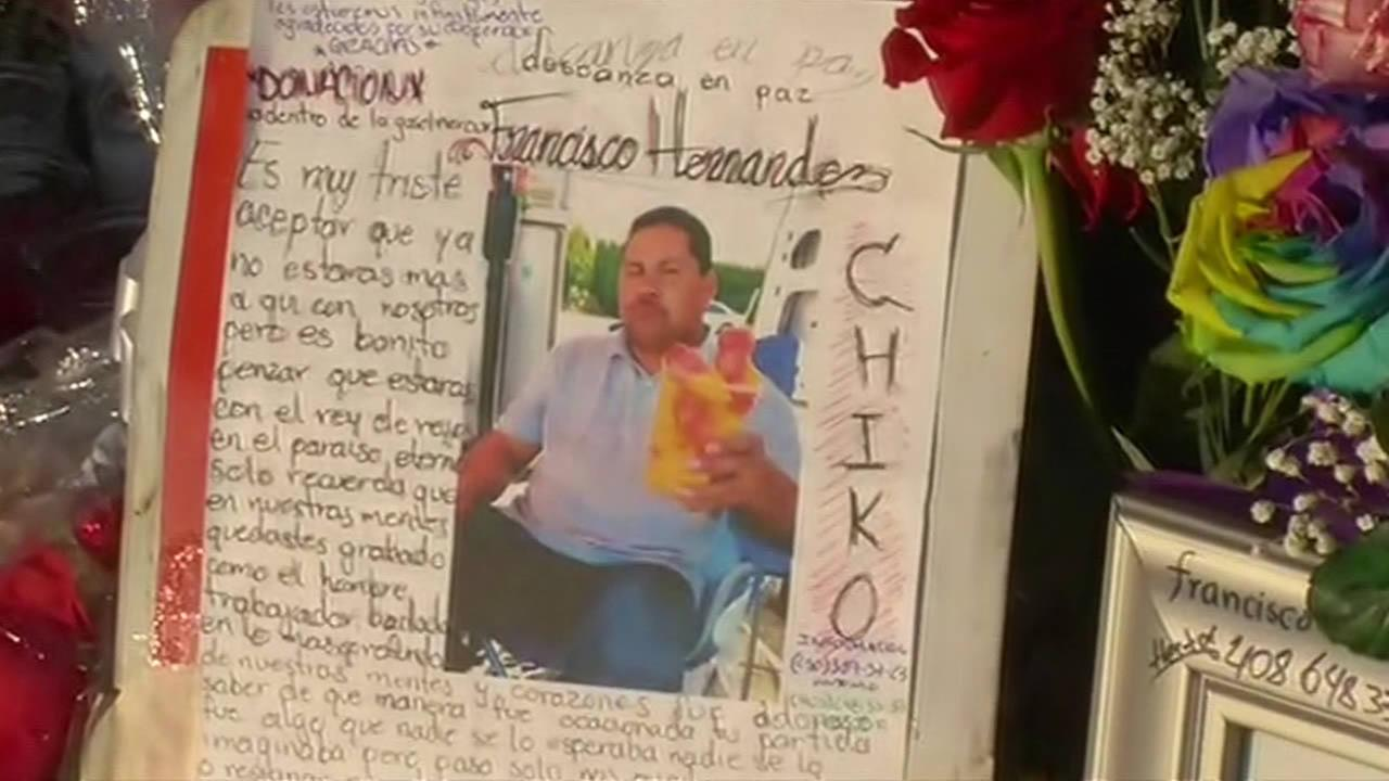 Francisco Hernandez was killed by an alleged drunk driver in San Jose, Calif. on Feb. 21, 2015.