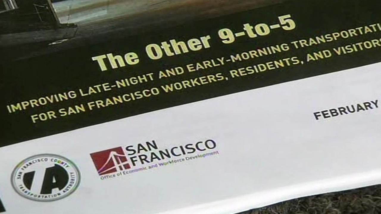 San Francisco Supervisor Scott Wiener introduced a plan to improve late night transportation on Feb. 23, 2015.