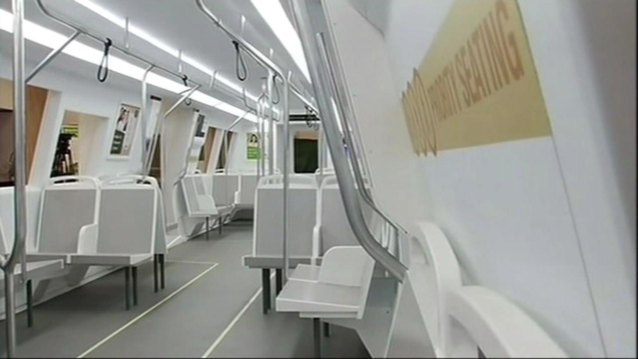 BART train redesign.