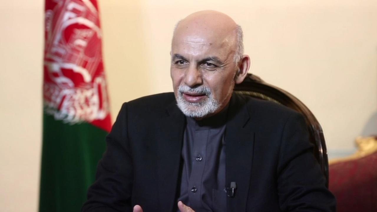 ABC7 News Anchor Cheryl Jennings sat down for a one-on-one interview with Afghan President Ashraf Ghani in Jan. 2015.