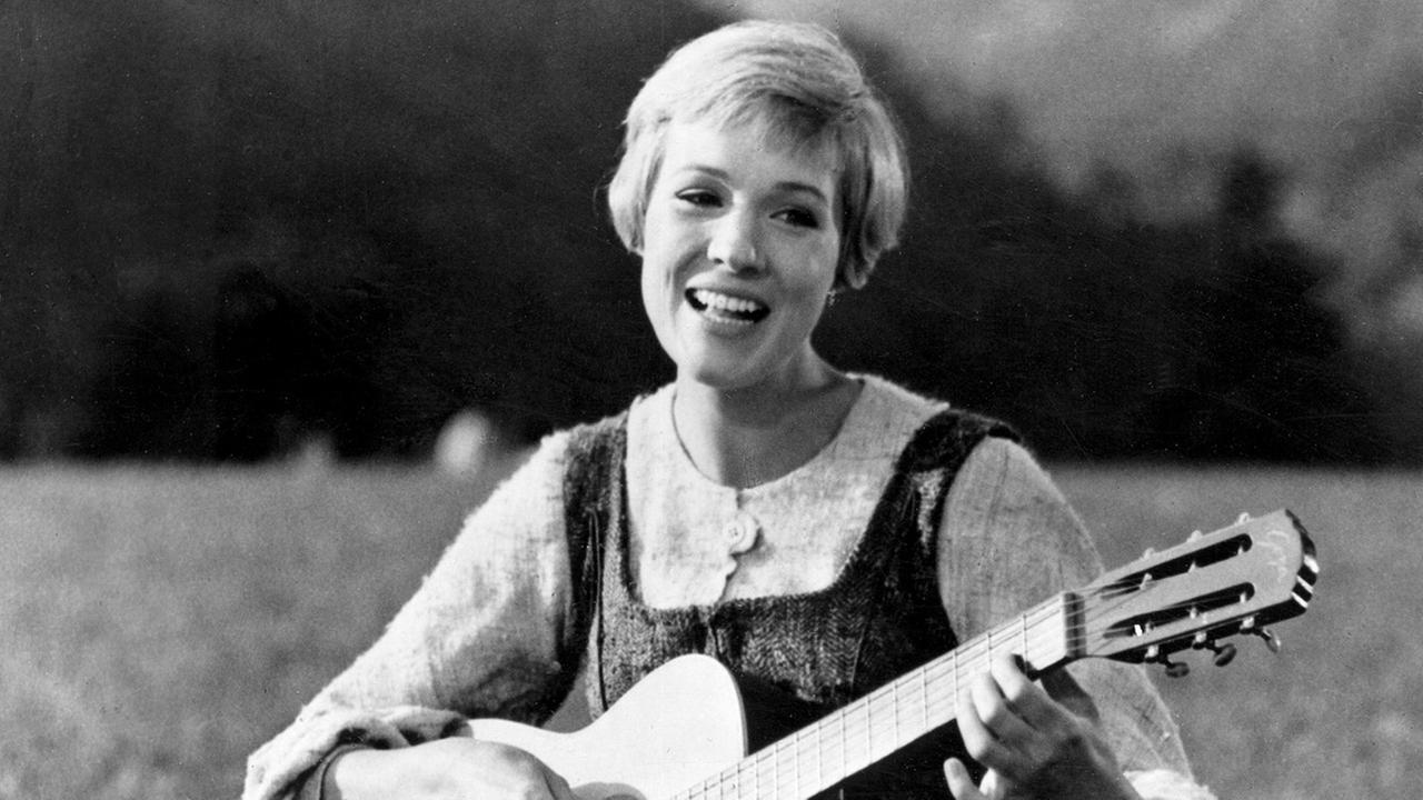 FILE - This file photo shows Julie Andrews bringing music to the hills of Austria in this scene from The Sound of Music, the 1965 Oscar-winning film. (AP Photo, File)