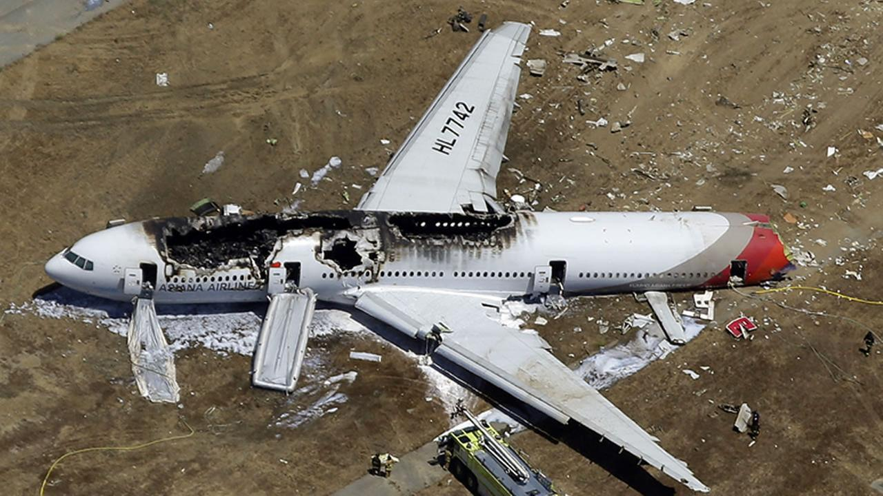 Plane crash at SFO