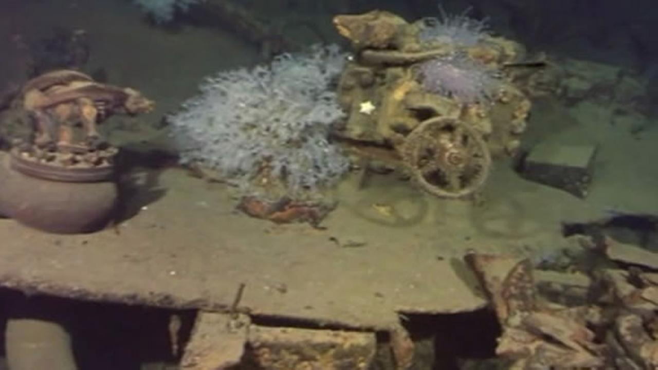 Microsoft co-founder and philanthropist Paul Allen says hes found a massive Japanese World War II battleship off the Philippines near where it sank over 70 years ago.