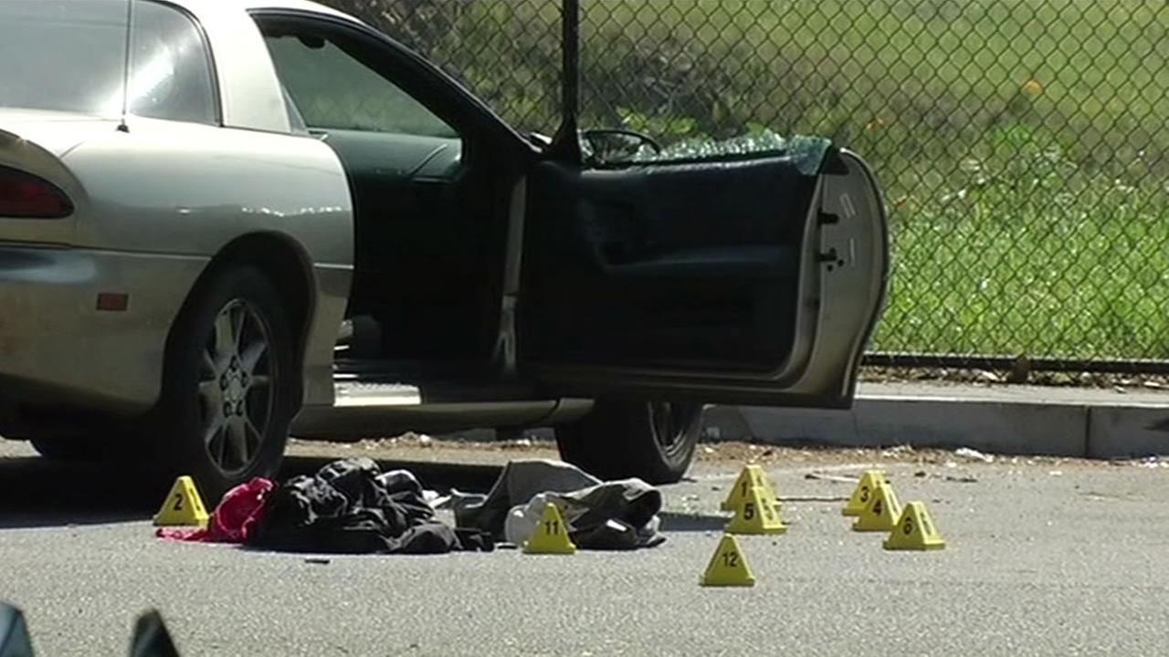 crime scene in SF