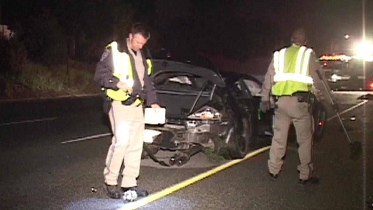 Fatal crash on I-280 in Palo Alto