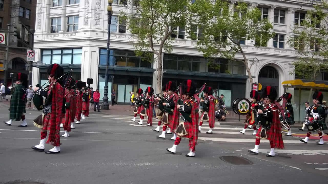Thousands gathered in San Francisco to participate in and also watch the annual St. Patricks Day Parade in San Francisco on March 14, 2015.(Photo submitted by Roberta via uReport)