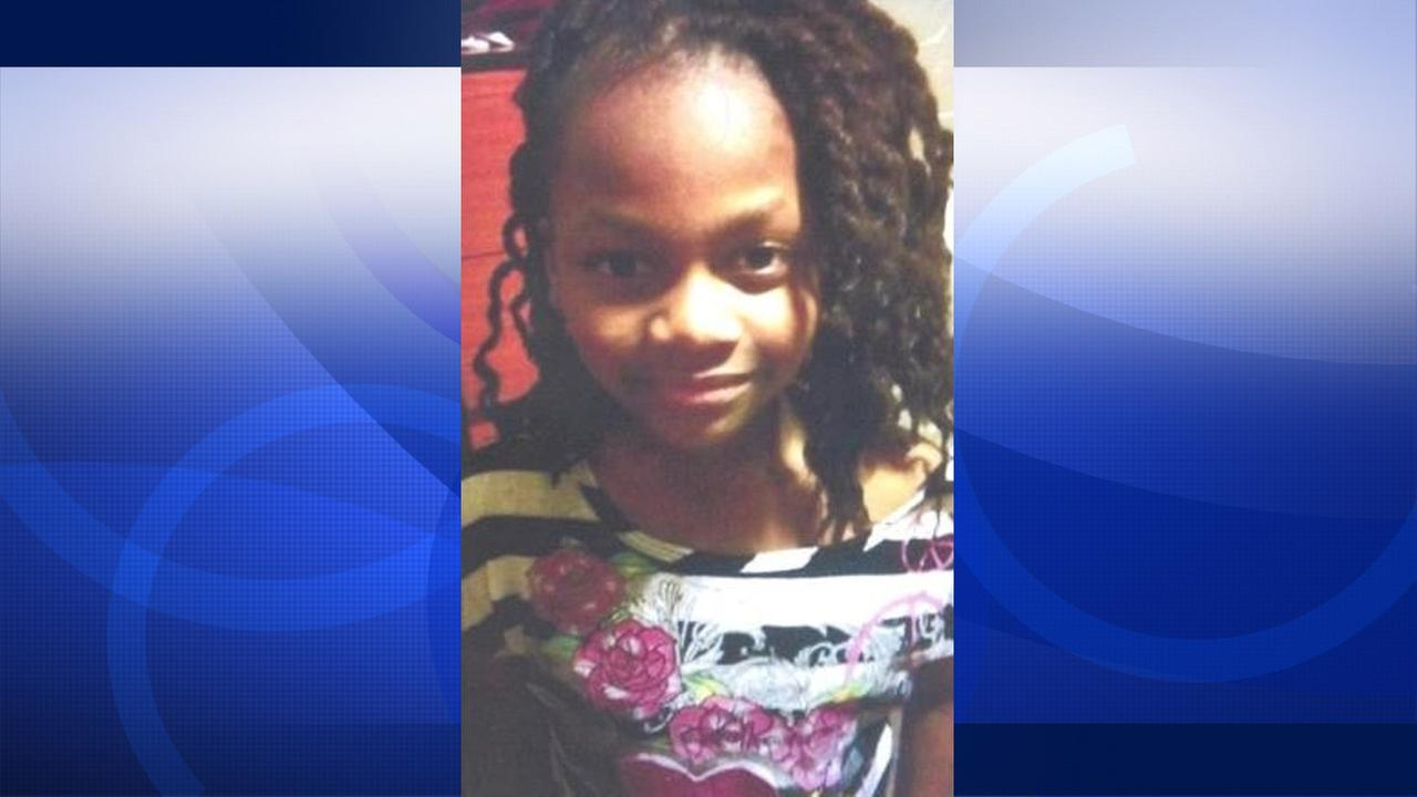 Missing 7-year-old Oakland girl Kyianna Orear.