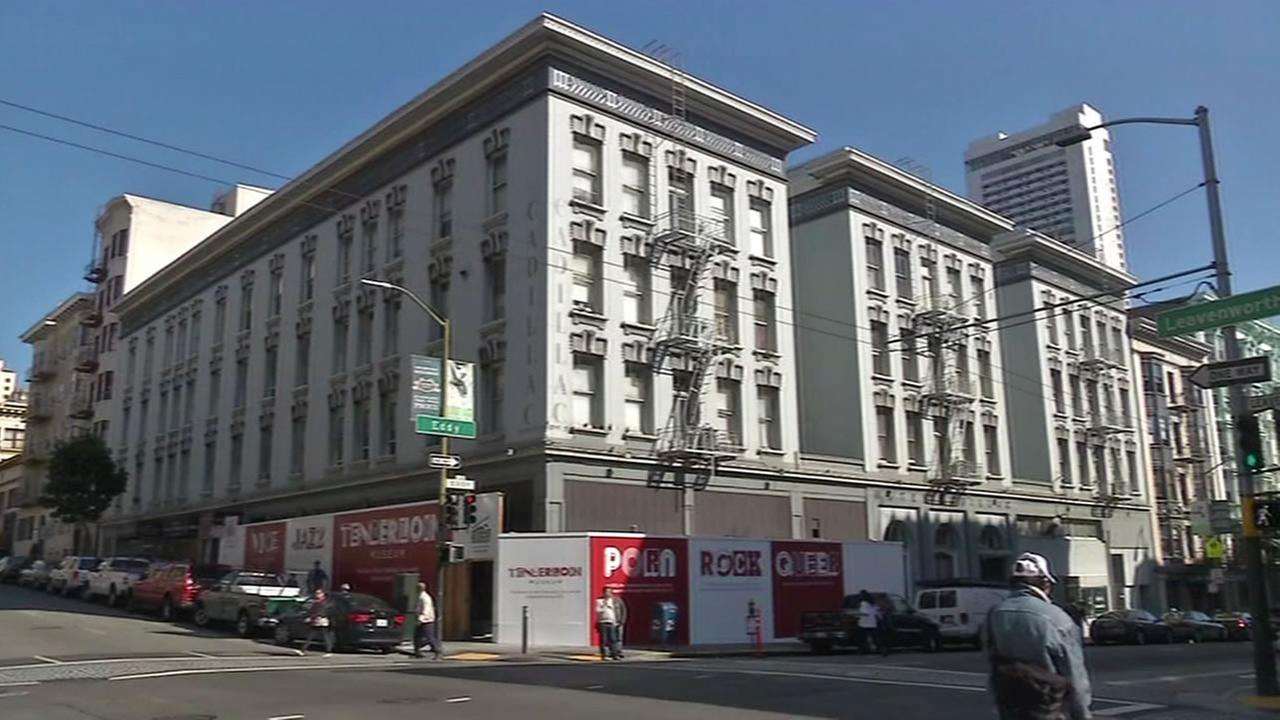 Construction is underway at the Tenderloin Museum