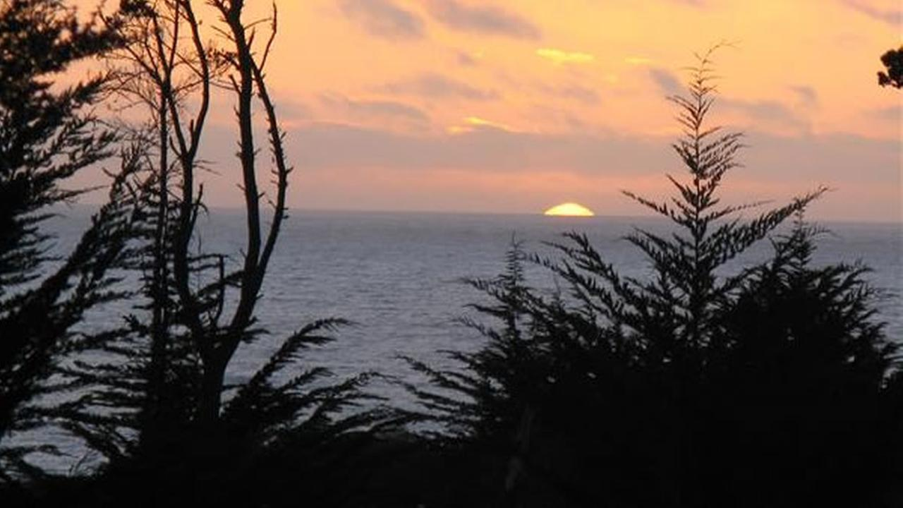 Sunset view on the coast in Mendocino County (Photo submitted by Jo B. via uReport)