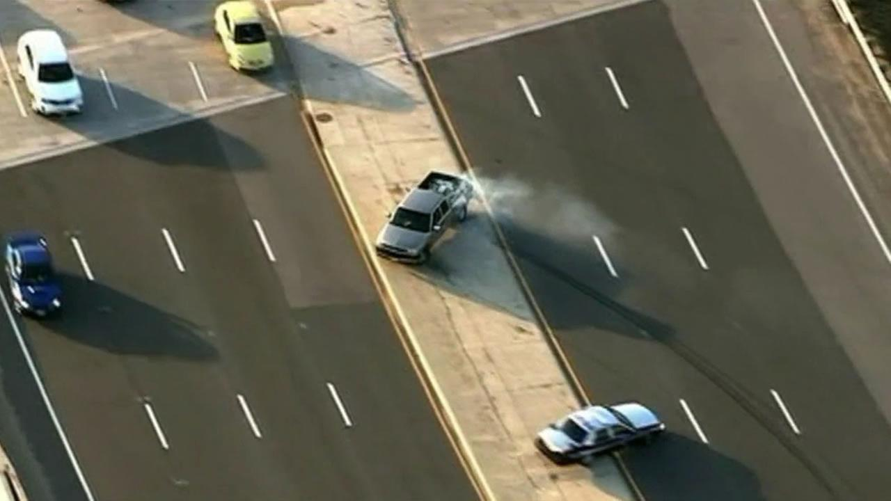 Car chase in Virginia