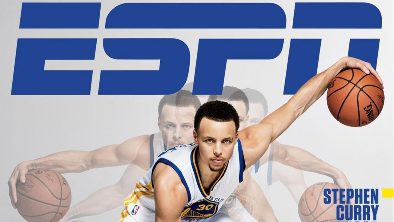 Golden State Warriors star Stephen Curry is featured on the cover of ESPN The Magazines Point Guard Issue that hits stands on March 3, 2015.