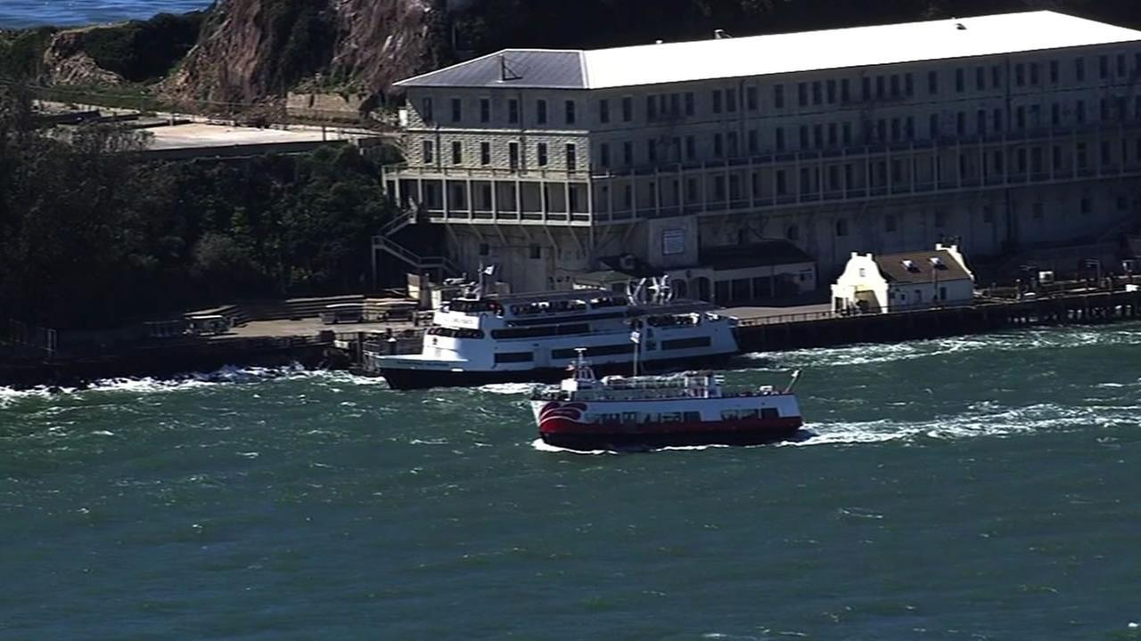 Alcatraz Cruises ferry service.