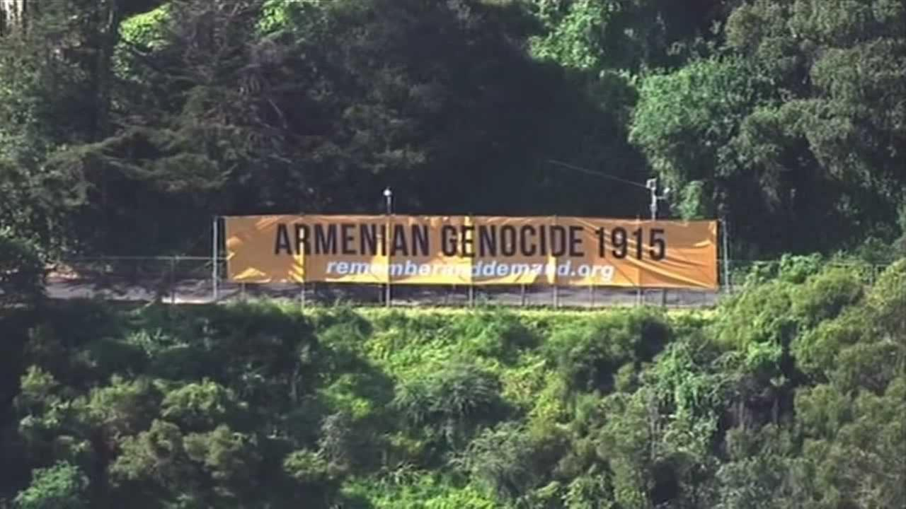 Armenians around the world are remembering the genocide against them on its 100th anniversary.