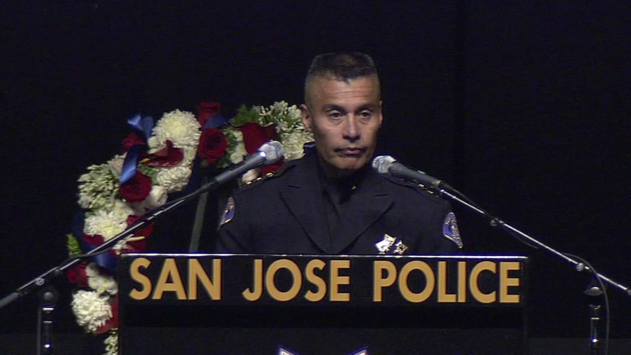 SJPD Chief Larry EsquivelKGO-TV