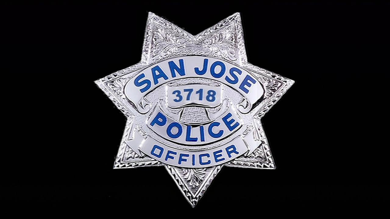 SJPD badgeKGO-TV