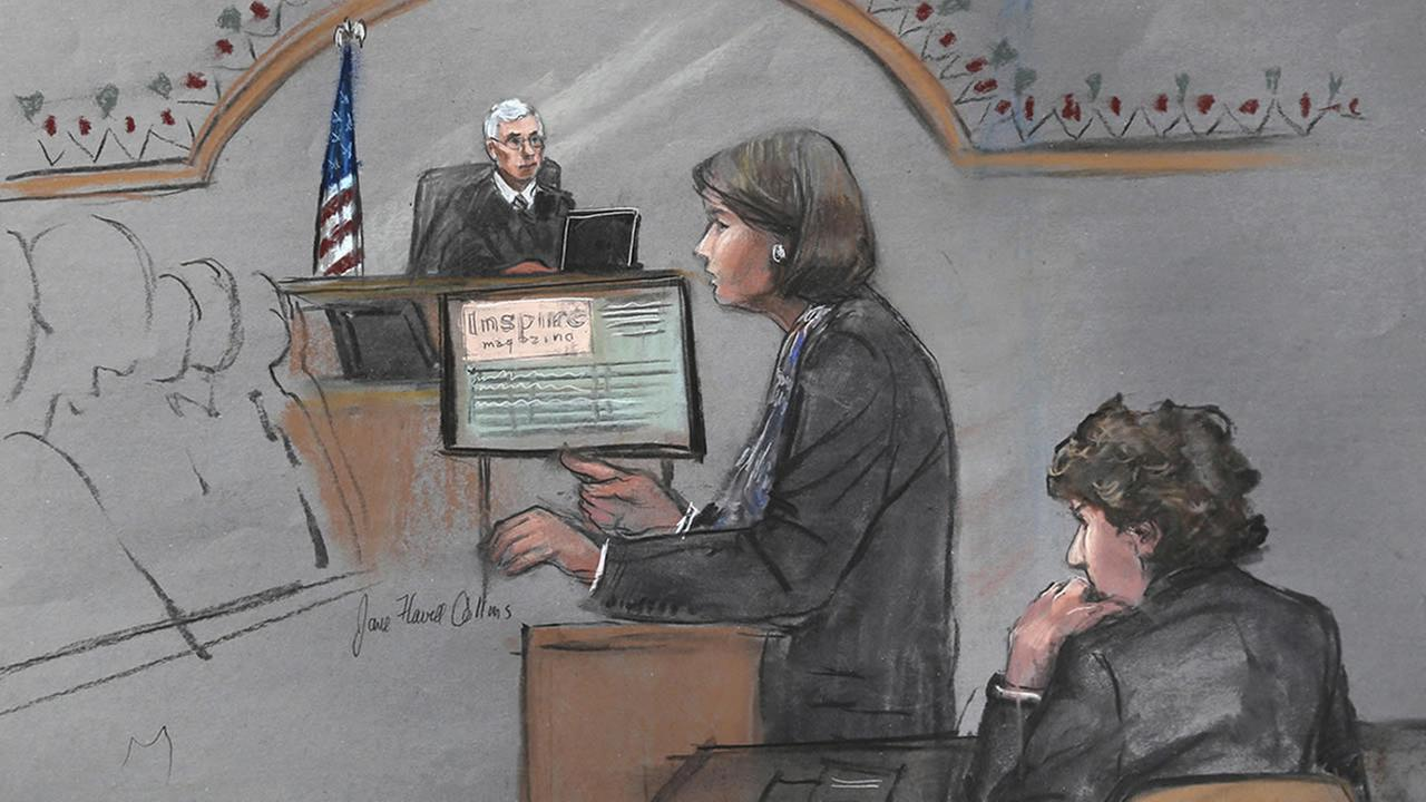 defense attorney Judy Clarke in the Boston bombing trial