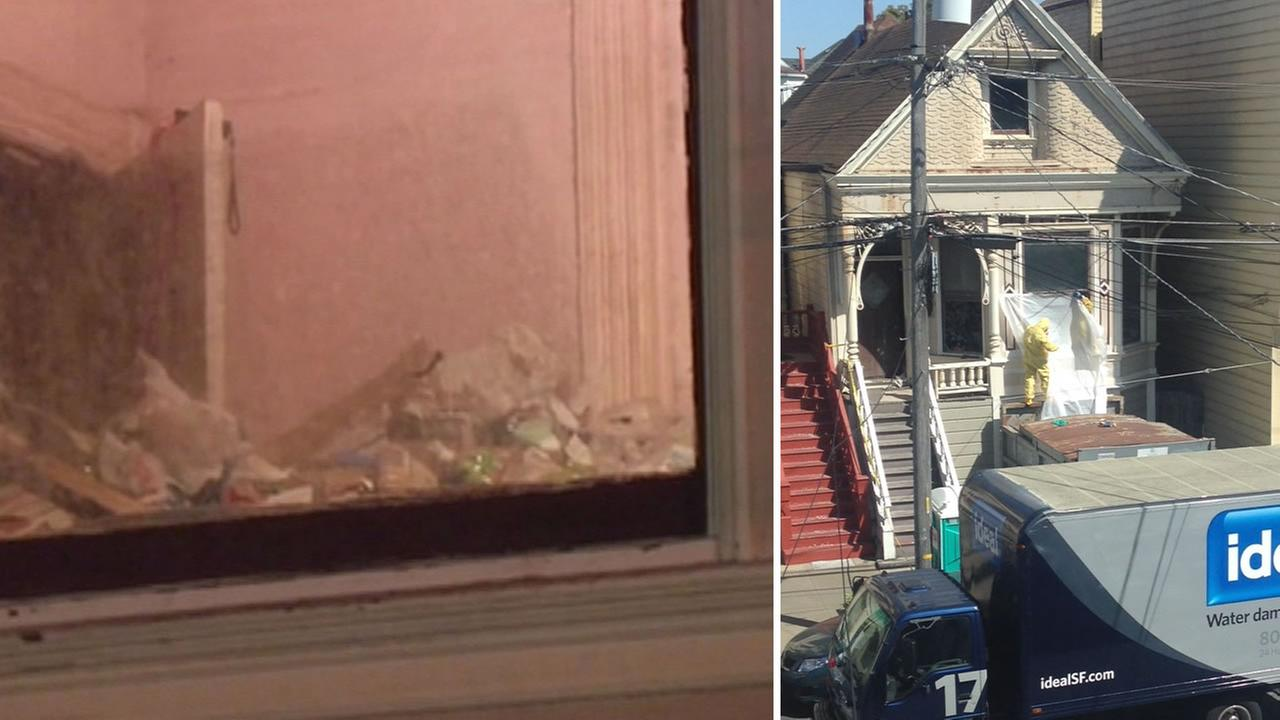 Police say a woman in her 90s was found mummified in her San Francisco home April 5, 2015  and she may have been dead for five years.