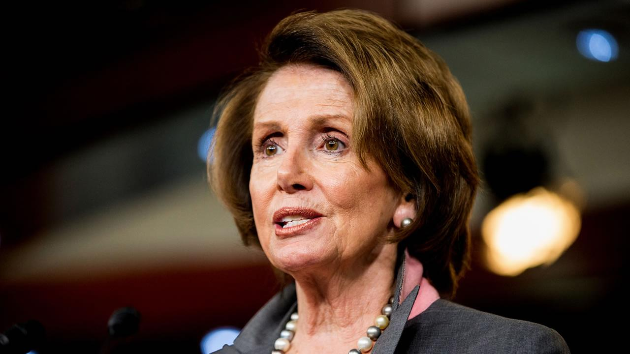 AP stock photo of Congresswoman Nancy Pelosi