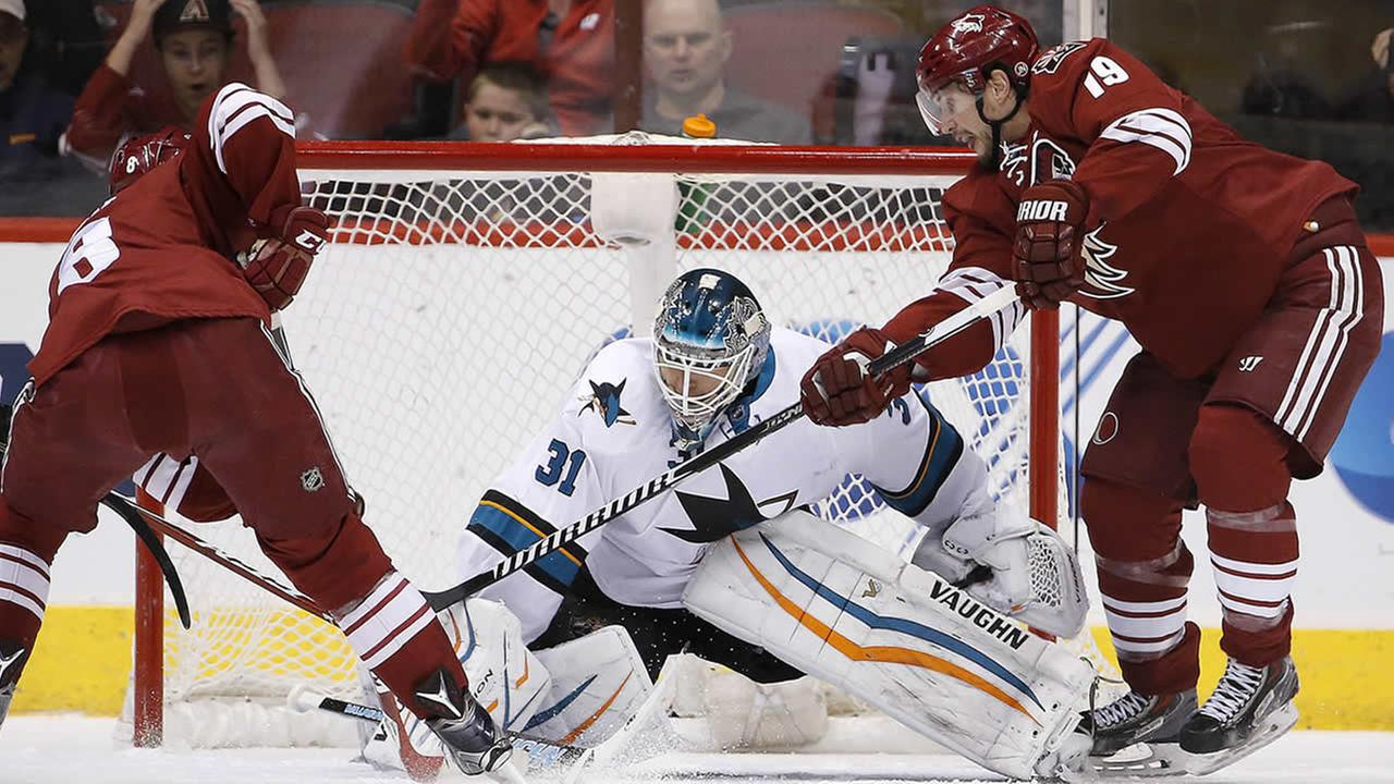 San Jose Sharks Antti Niemi