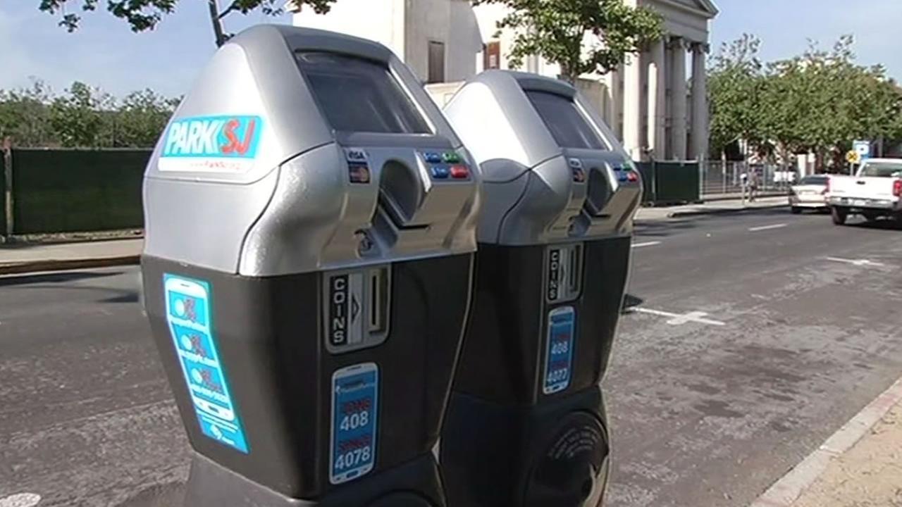 San Jose smart parking meter