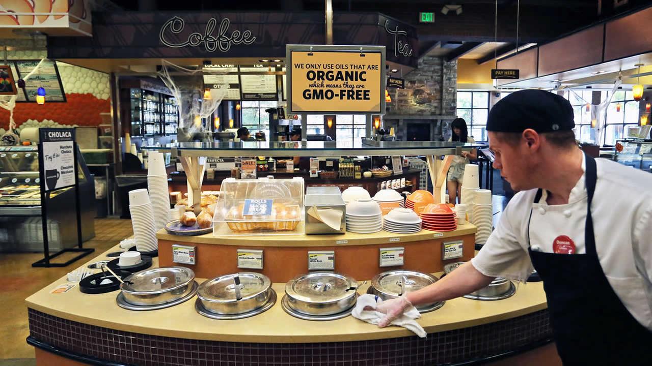 organic, GMO-free food
