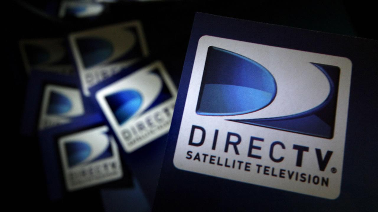 DirecTV logos are seen on flyers in North Andover, Mass. Thursday, Aug. 6, 2009. (AP Photo/Elise Amendola)