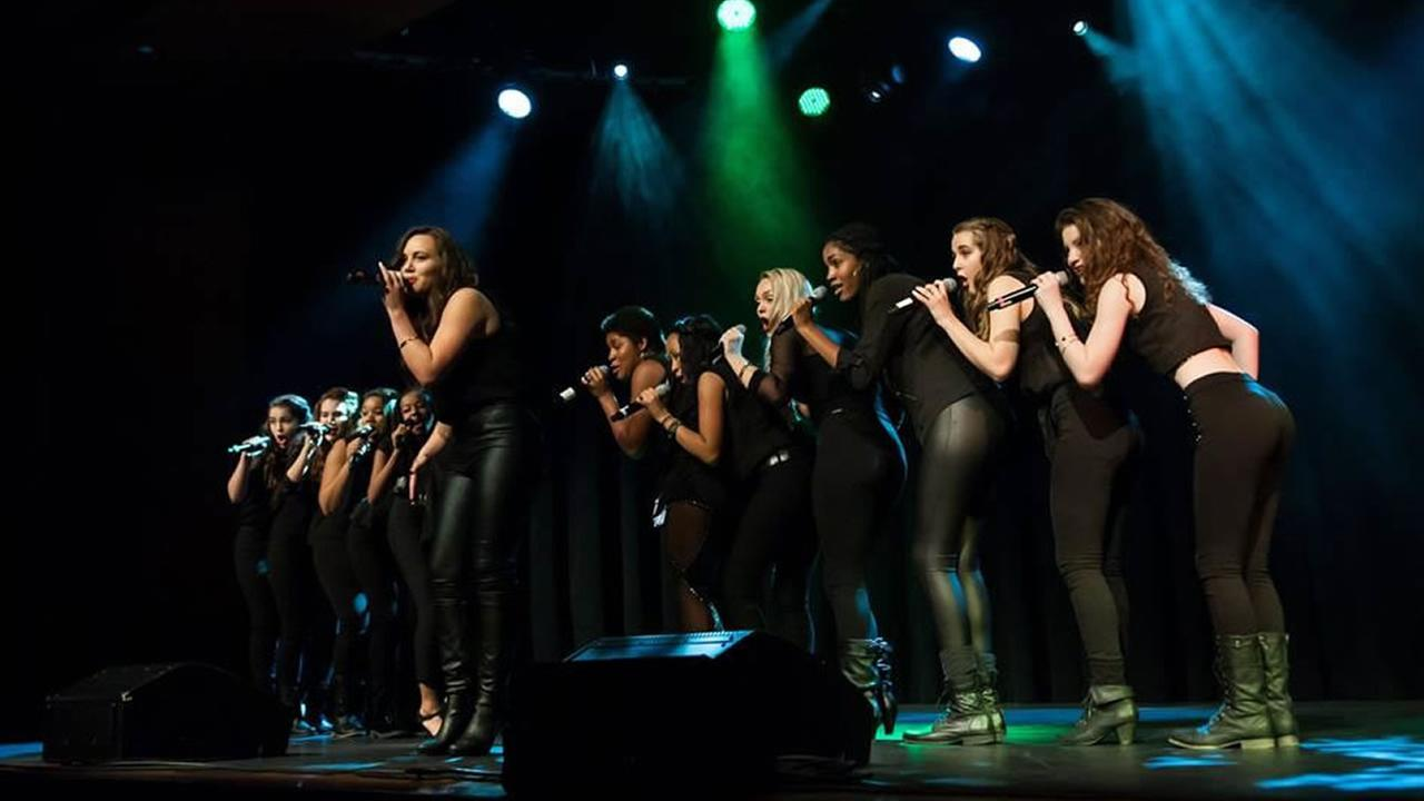 Oakland School of the Arts a capella group, Vocal Rush. (Photo courtesy Osa Vocal Rush)