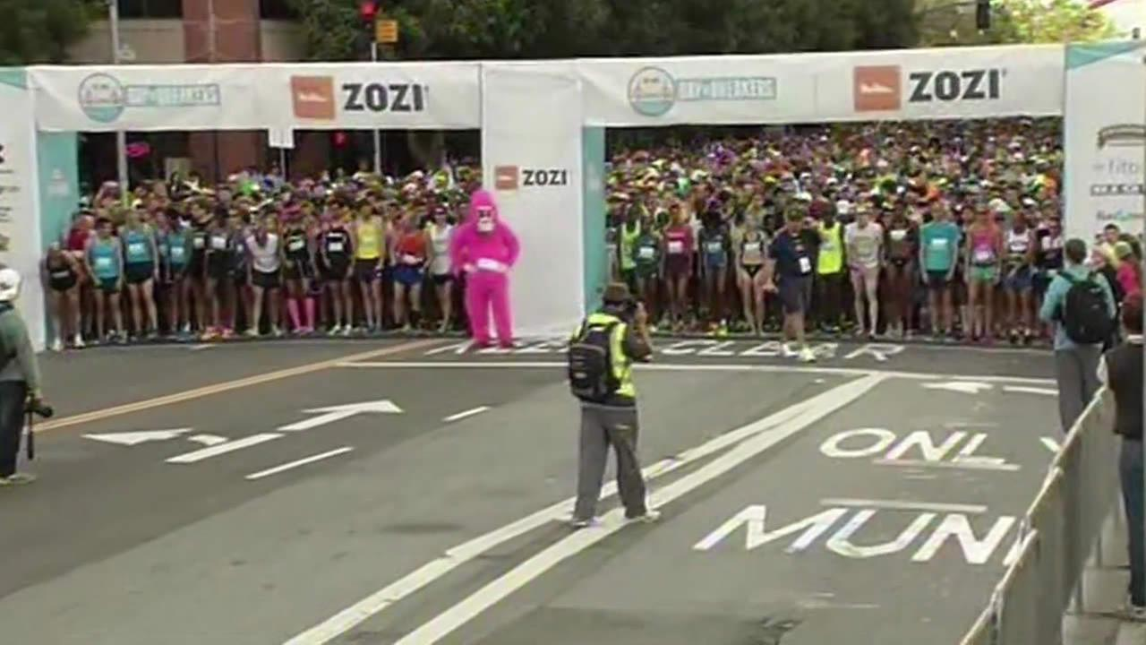 103rd running of Bay to Breakers Race in San Francisco.