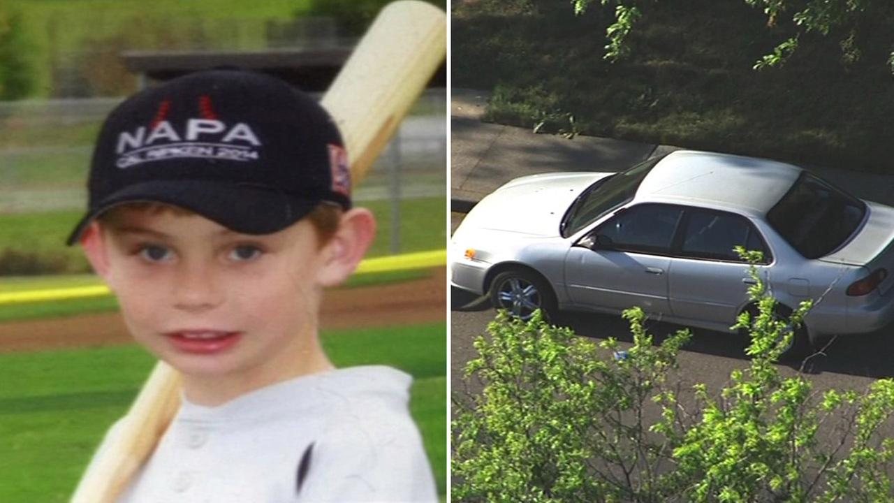 Missing 8-year-old boy Brock Guzman was found safe in his familys car on April 20, 2015.