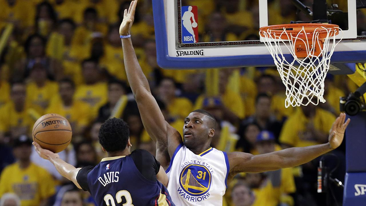 Warriors Festus Ezeli