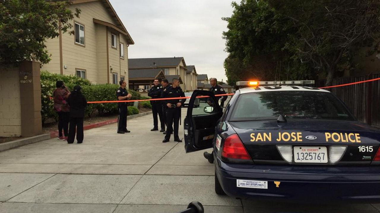 San Jose police in standoff with man on the 2700 block of McKee Road on April 21, 2015.