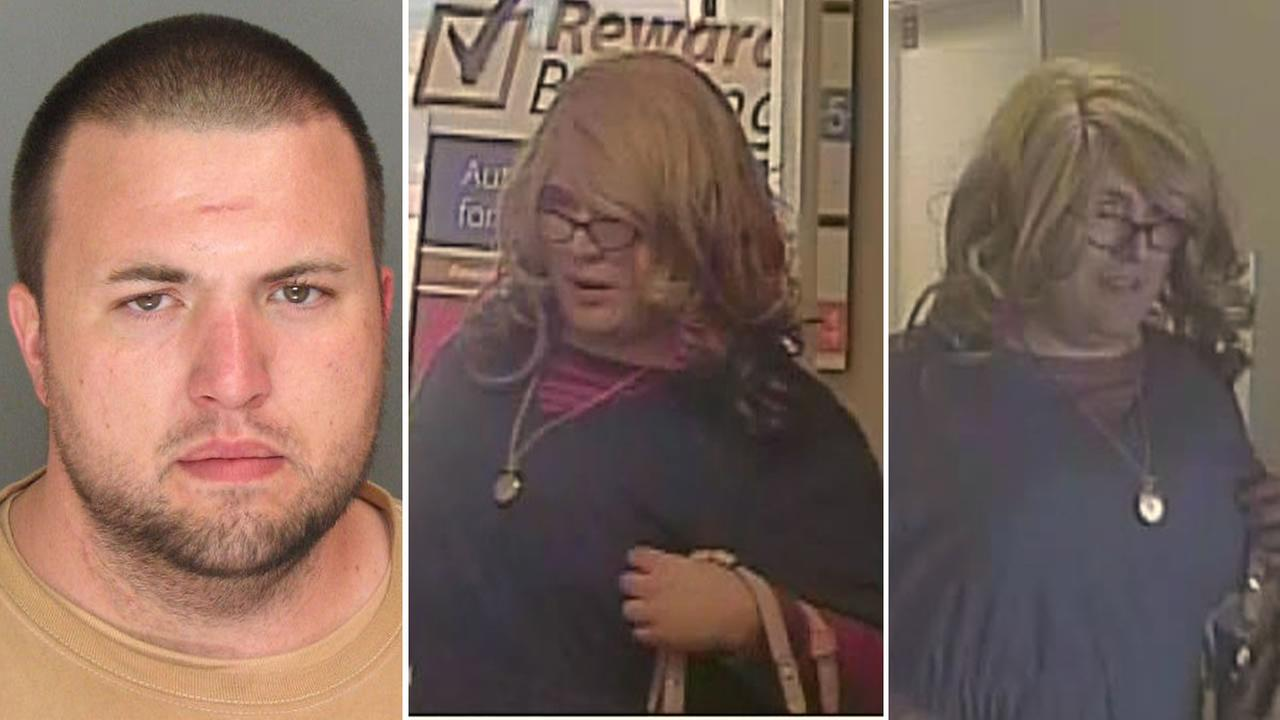 Police have arrested 31-year-old Sand City resident Brandon Calantoc in connection with the Mrs. Doubtfire bank robbery in Santa Cruz, Calif. on April 3, 2015.