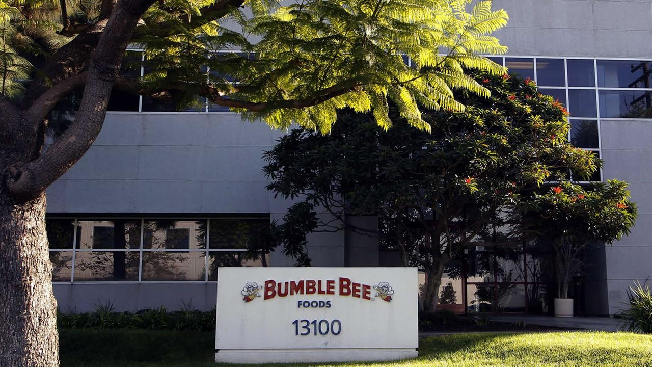 The Bumble Bee tuna processing plant in Santa Fe Springs, Calif.
