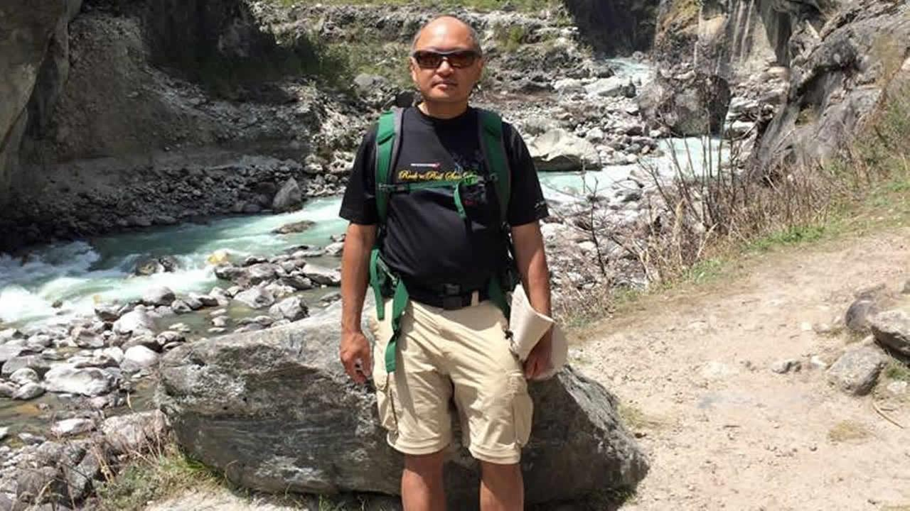 Vinh Truong from Sunnyvale, Calif. died on Mount Everest after quake-triggered avalanches hit Nepal on Saturday, April 25, 2015.