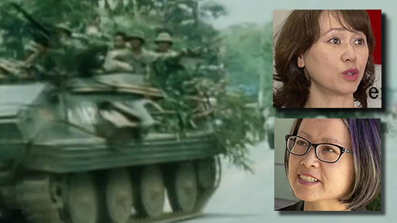 Thursday marks the 40th anniversary of the fall of Saigon, and ABC7 News talked to two Bay Area women whose lives were forever changed on April 30, 1975.