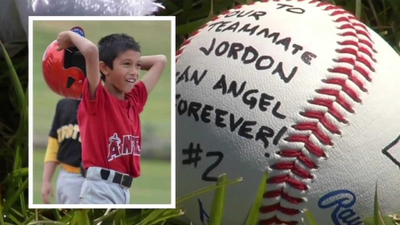 Friends and family are mourning the death of 9-year-old Jordon Almgren who was fatally stabbed in Discovery Bay, Calif. on April 26, 2015.