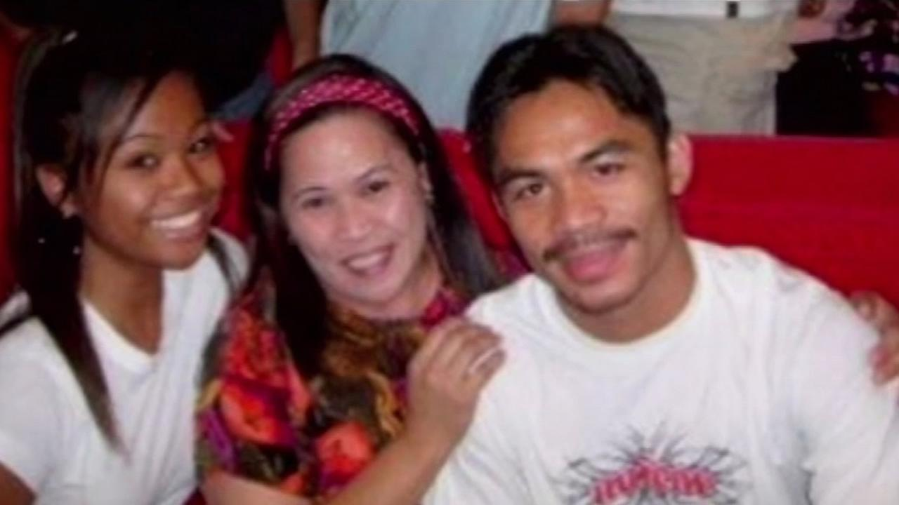 San Francisco resident Corazon Estiva hosted Manny Pacquiao for a month when he first came to the United States in 2001.