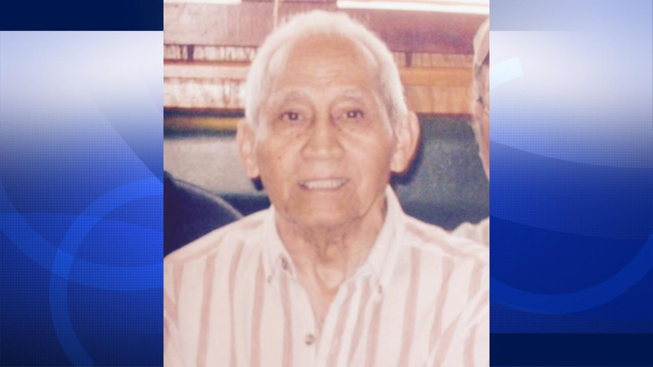 Police are looking for 92-year-old Oscar Noriega who went missing on May 3, 2015 in San Jose, Calif.