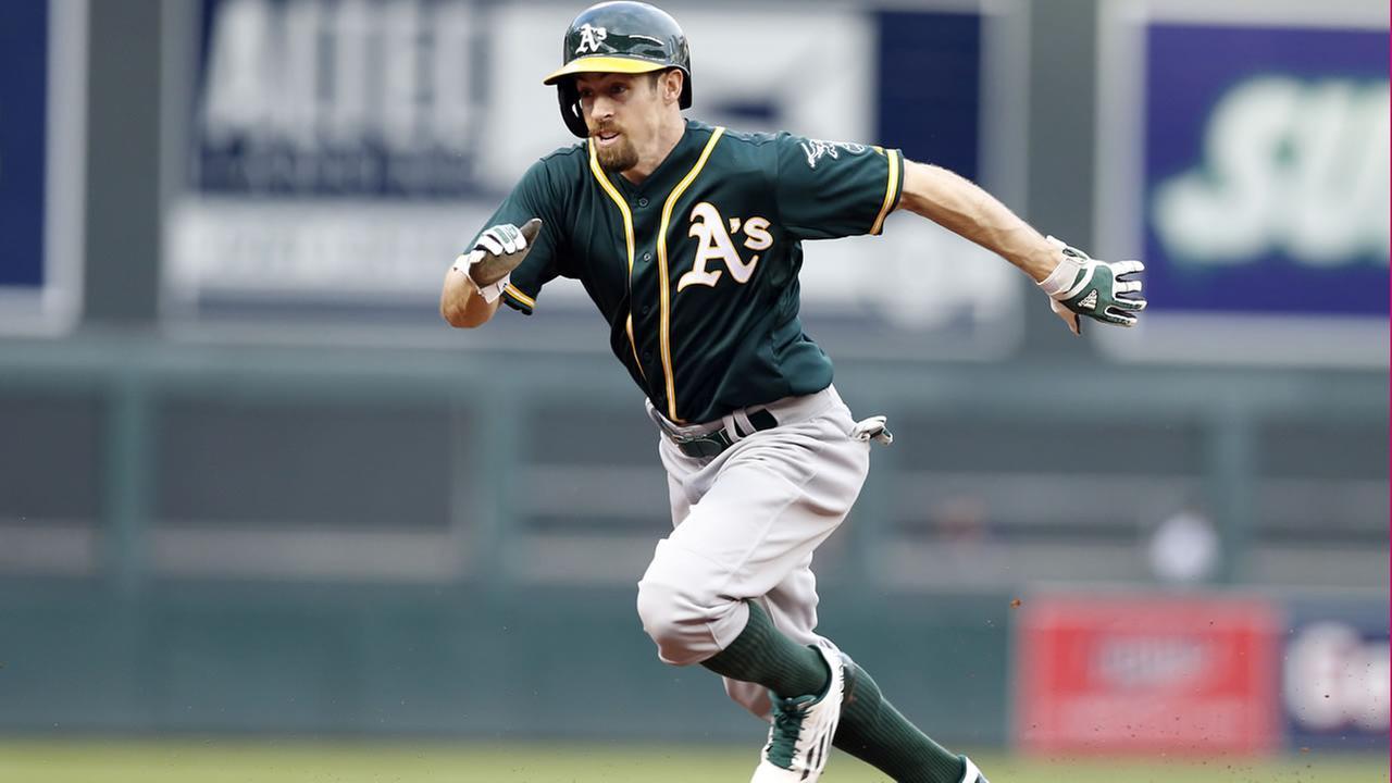 Oakland Athletics Billy Burns