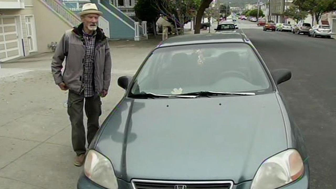 Philip Hollenbeck finds his stolen car in San Francisco