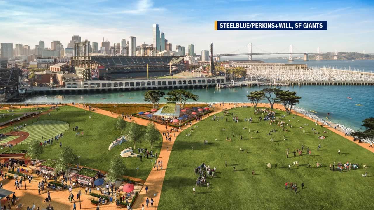 Giants fans know parking lot A across from AT&T Park, but if all goes as planned the 28-acre site will become Mission Rock.