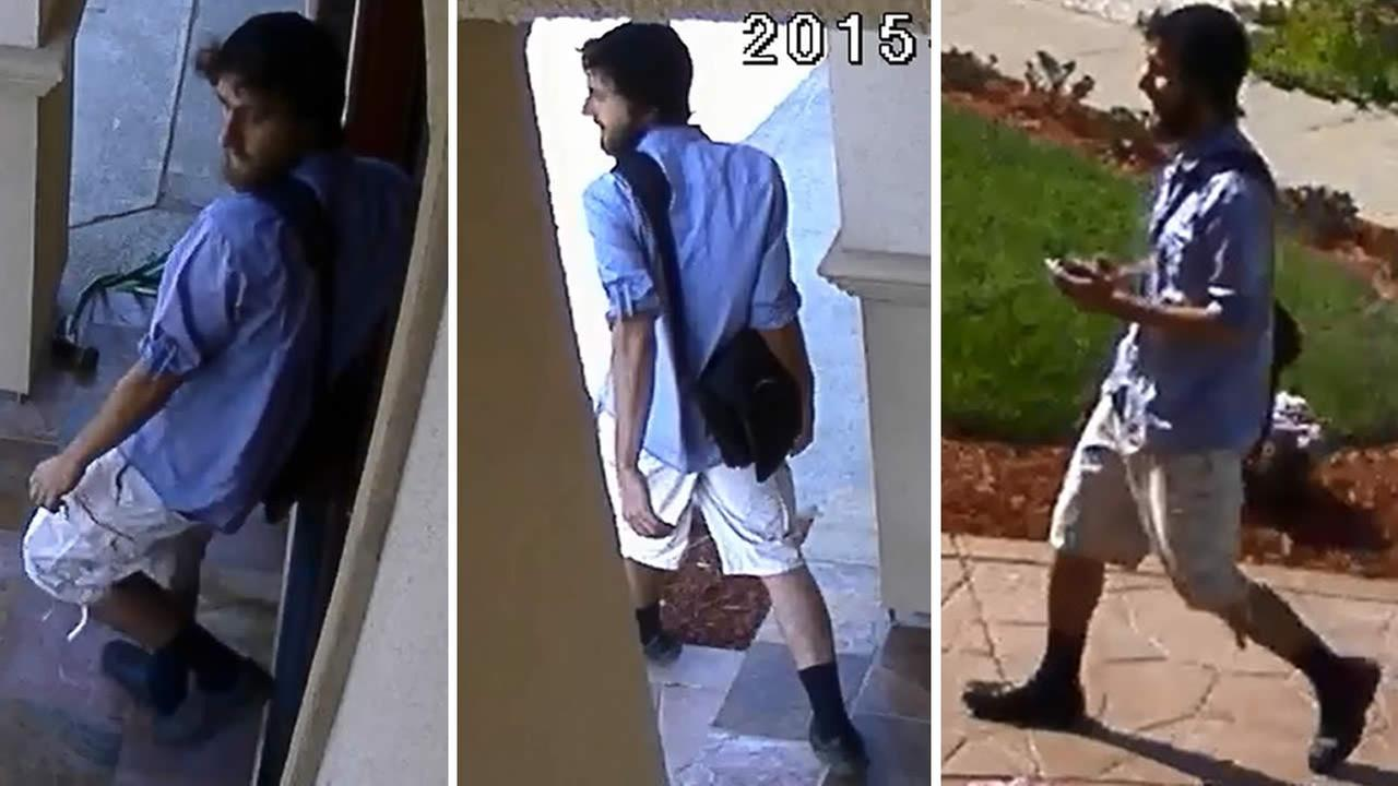 Police are searching for a man whos accused of following a 13-year-old girl home and forcing his way inside on May 2, 2015 in San Jose, Calif.