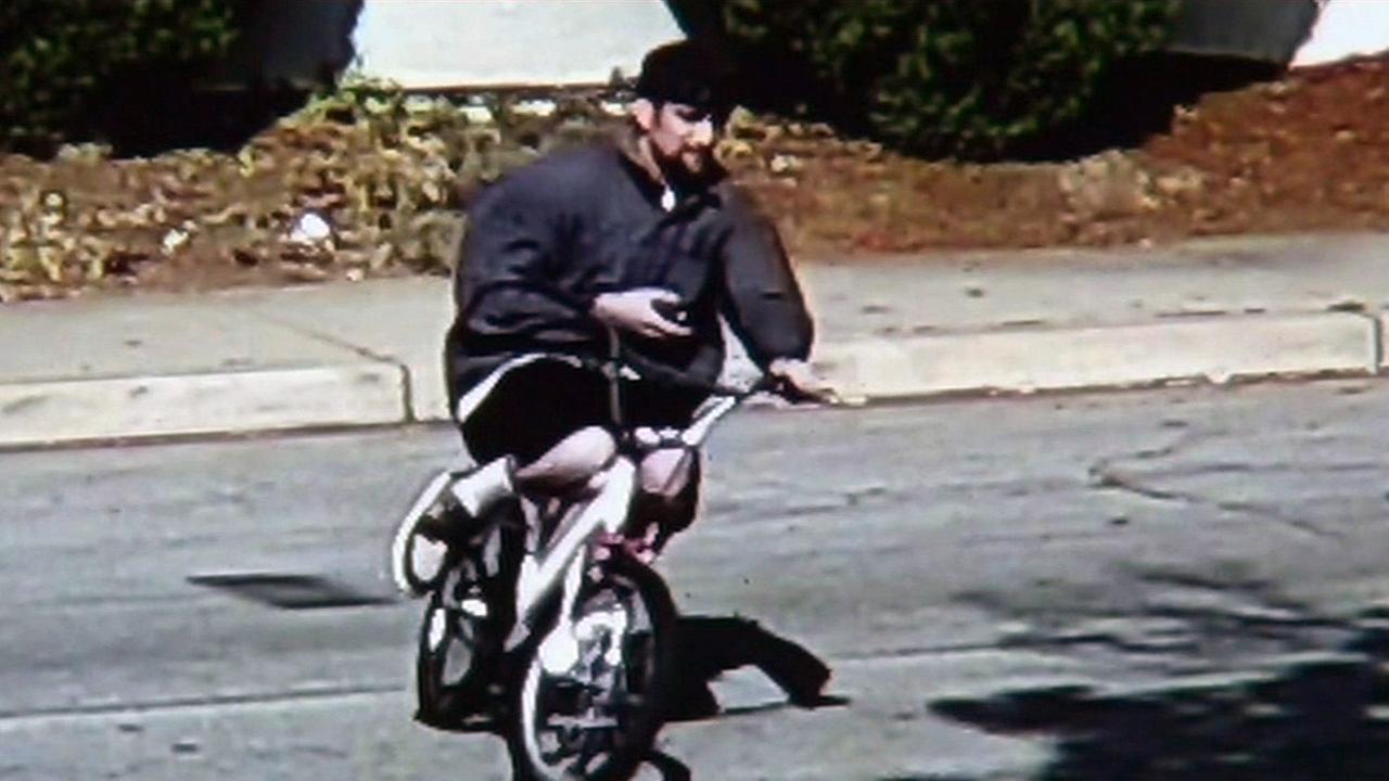 Suspect in San Jose burglary.