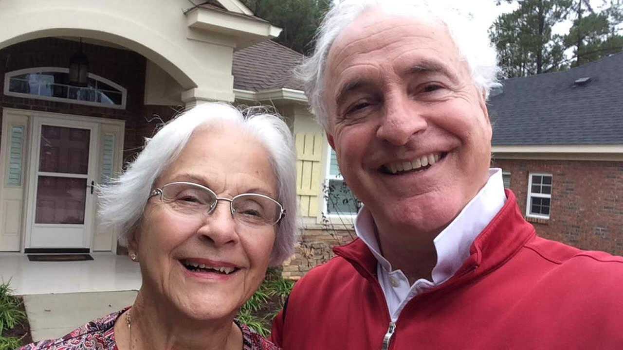 ABC7 News Sport Anchor Mike Shumann shared this photo, writing, Happy Mothers day to the best Mom I know! I couldnt have made it without her. Love you Mom. #mothersdaylove.KGO-TV/Mike Shumann