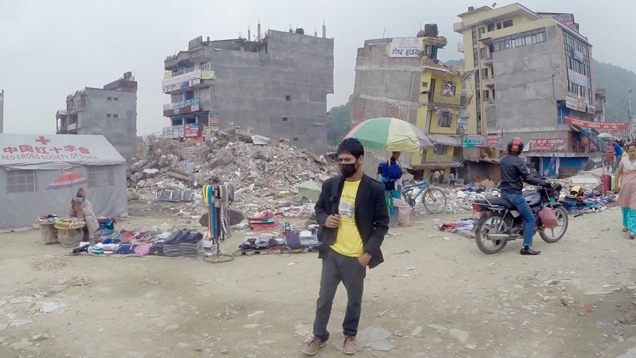 ABC7 News reporter Sergio Quintana traveled to quake-ravaged Nepal with the Sebastopol Community and Disaster Response Team and Oakland-based Motherland Nepal in May 2015.