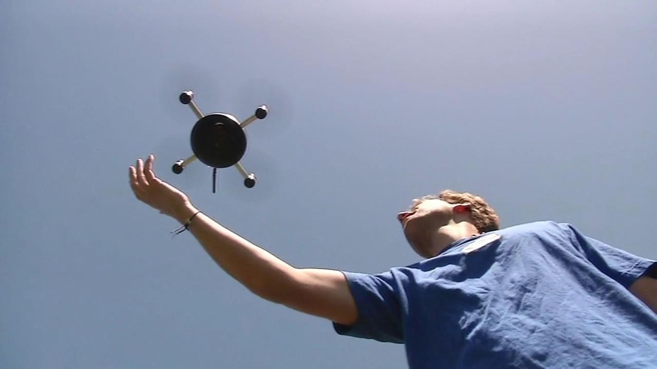 Lily is a quad copter camera drone meant for taking selfies that was developed in Menlo Park.