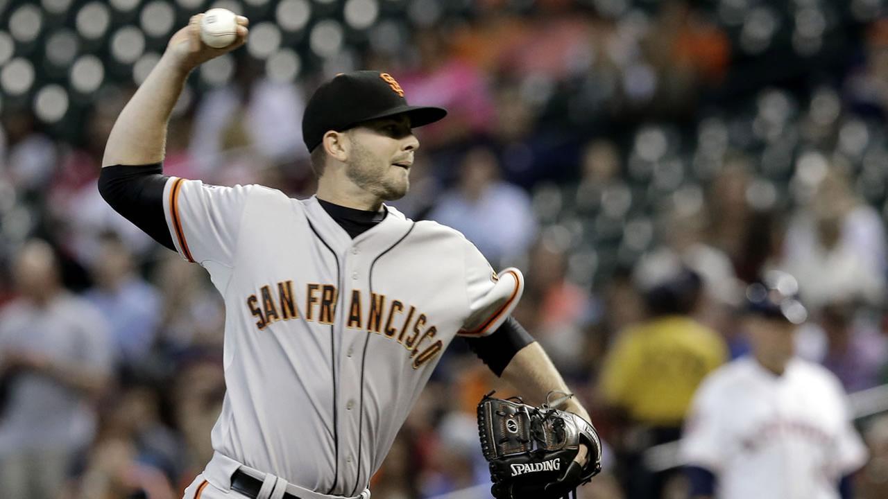 San Francisco Giants Chris Heston