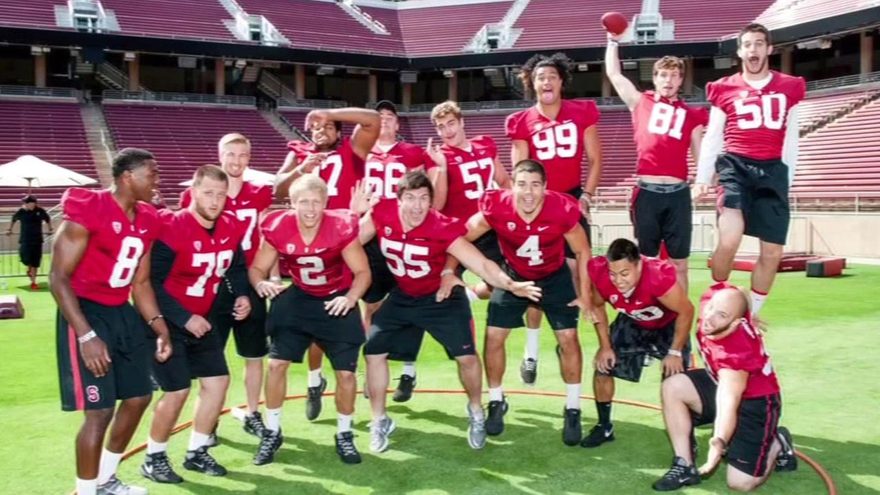 Stanford University athletes (Wender-Weis Foundation)